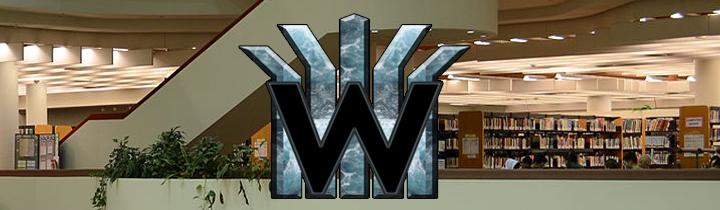 logo library banner
